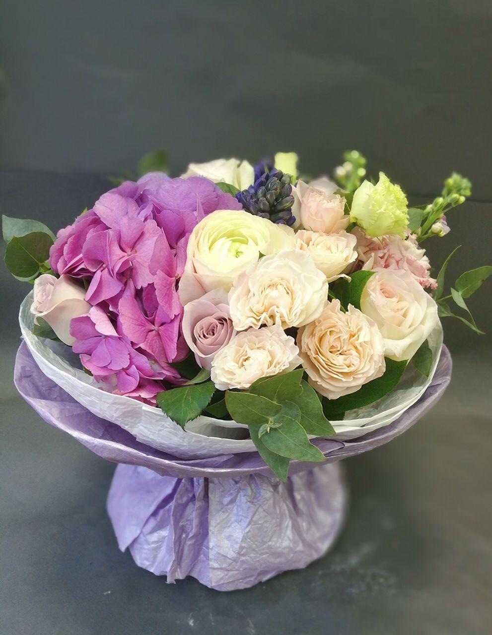 Цветов куйбышева букет гортензия купить в москве склад магазин